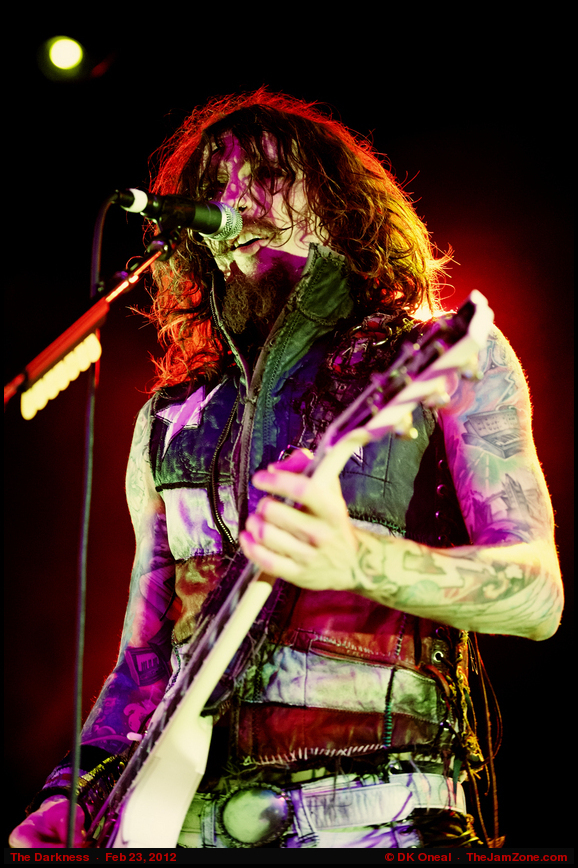 Photos of The Darkness : Feb 23, 2012 : Roseland Theater, Portland OR : TheJamZone